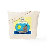 Fishbowl Outhouse Aerator Tote Bag