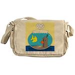 Fishbowl Outhouse Aerator Messenger Bag