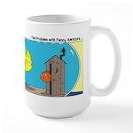 Fishbowl Outhouse Aerator Large Mug