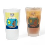 Fishbowl Outhouse Aerator Drinking Glass