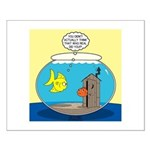 Fishbowl Outhouse Aerator Small Poster