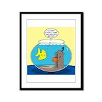 Fishbowl Outhouse Aerator Framed Panel Print