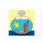 Fishbowl Outhouse Aerator Postcards (Package of 8)