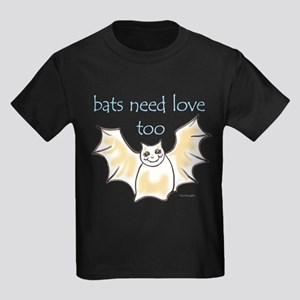 bats need love too! Kids Dark T-Shirt