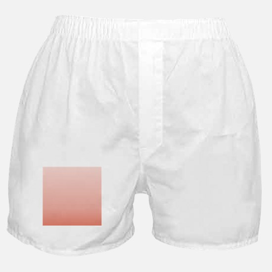 ombre peach pink Boxer Shorts