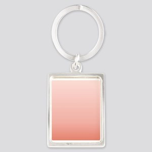 ombre peach pink Keychains