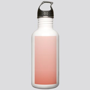 ombre peach pink Stainless Water Bottle 1.0L