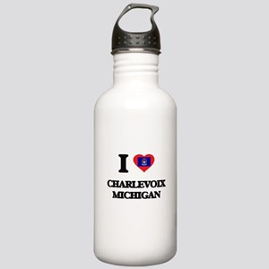 I love Charlevoix Mich Stainless Water Bottle 1.0L