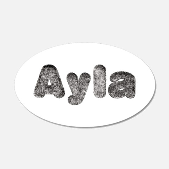 Ayla Wolf Wall Decal