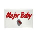 USCG Major Baby Rectangle Magnet (100 pack)