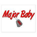 USCG Major Baby Small Poster