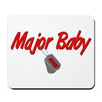 USCG Major Baby Mousepad
