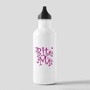 BiteMePink 10x10 Stainless Water Bottle 1.0L