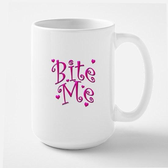 BiteMePink 10x10 Mugs