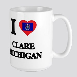 I love Clare Michigan Mugs