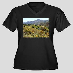 Mountains near O'Cebreiro, El Ca Plus Size T-Shirt