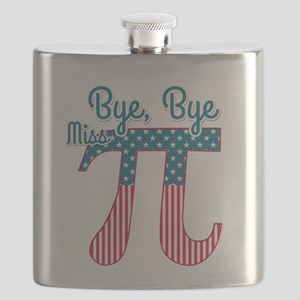 Bye, Bye Miss American Pi (Pie) Flask