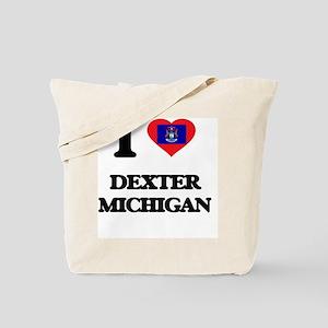 I love Dexter Michigan Tote Bag