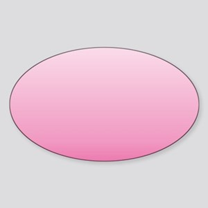 ombre hot pink Sticker