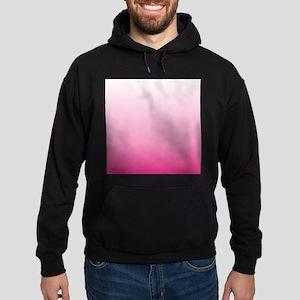 ombre hot pink Hoodie (dark)
