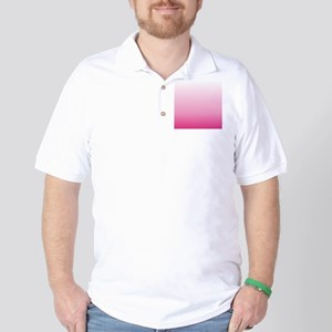 ombre hot pink Golf Shirt