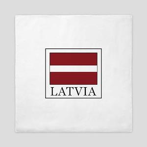 Latvia Queen Duvet
