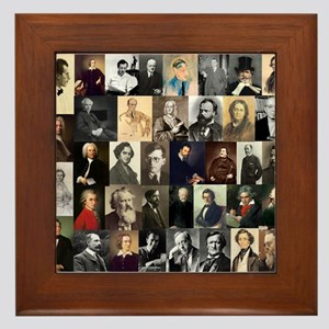 Composers Collage Framed Tile