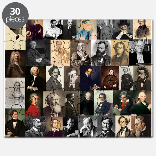 Composers Collage Puzzle