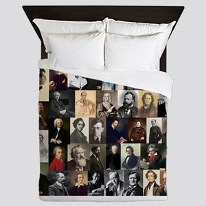 Composers Collage Queen Duvet