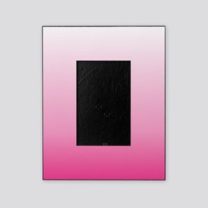 ombre hot pink Picture Frame