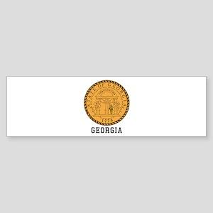 Georgia Seal Bumper Sticker