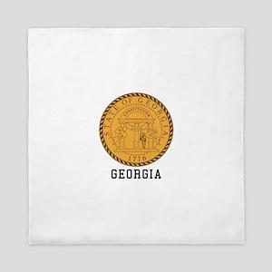 Georgia Seal Queen Duvet