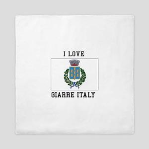 Love Giarre Italy Queen Duvet