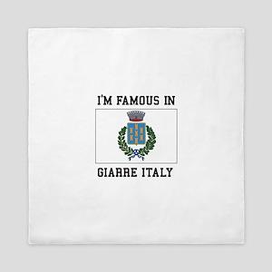 Famous In Giarre Queen Duvet