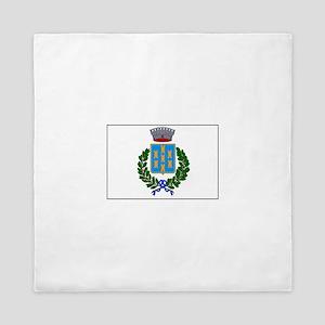 Giarre Italy Flag Queen Duvet