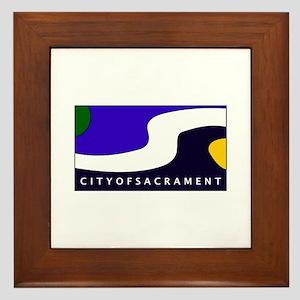 Sacramento, California Framed Tile
