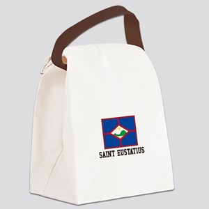 Saint Eustatius Canvas Lunch Bag
