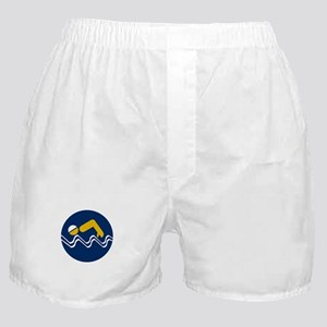 Swimming Beach - South Africa Boxer Shorts