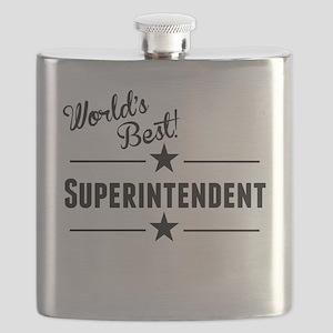 Worlds Best Superintendent Flask