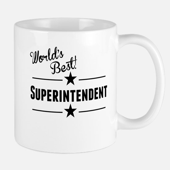 Worlds Best Superintendent Mugs