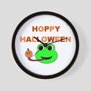 HOPPY HALLOWEEN Wall Clock