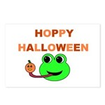 HOPPY HALLOWEEN Postcards (Package of 8)