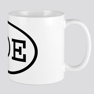 GOE Oval Mug