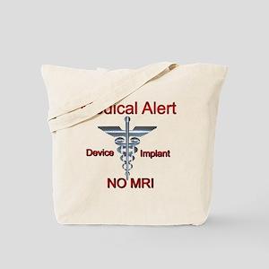 Medical Alert Device Implant NO MRI Ascle Tote Bag