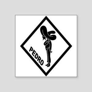 PEDRO Patch (B) Sticker