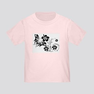 FLOWERS & BF 30 Toddler T-Shirt