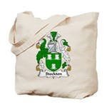 Stockton Family Crest Tote Bag
