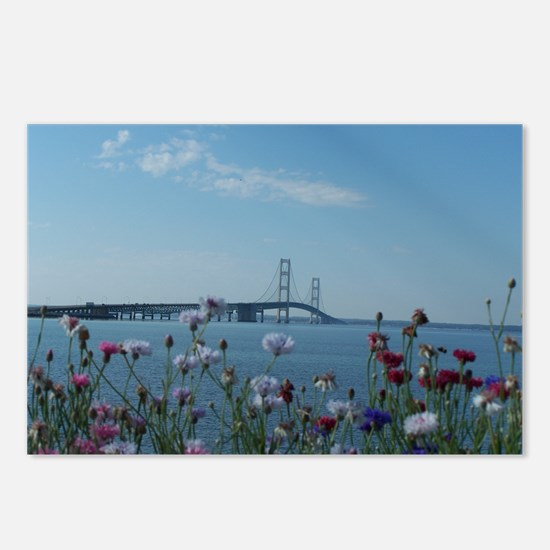 Unique Mackinac Postcards (Package of 8)