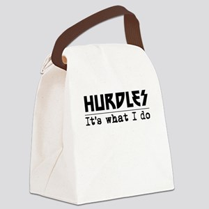 Hurdles Its What I Do Canvas Lunch Bag