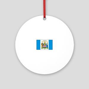 Edmonton Alberta Ornament (Round)